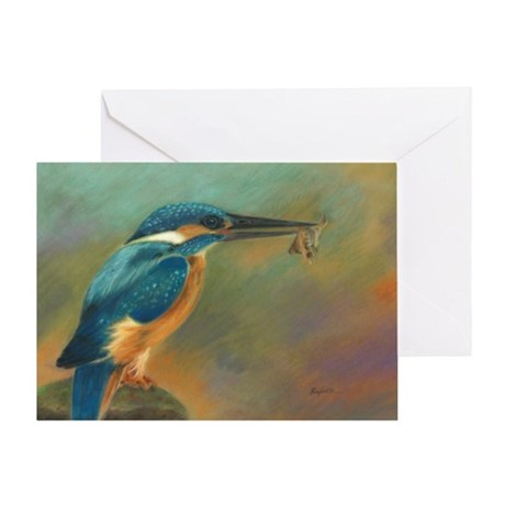 Kingfisher Blues Card Greeting Cards