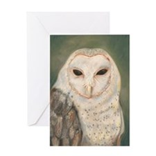 Madonna Barn Owl Card Greeting Cards