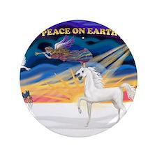 "Arabian horse 3.5"" Button (100 pack)"