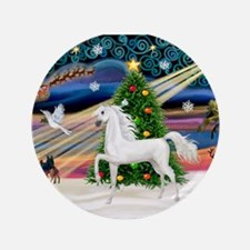 """XmsMagic/Horse (Ar-W) 3.5"""" Button (100 pack)"""