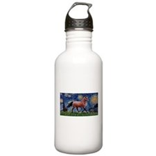 Starry Night Quarterhorse Water Bottle