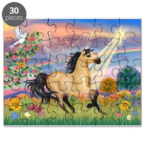 Cloud Star & Buckskin horse Puzzle