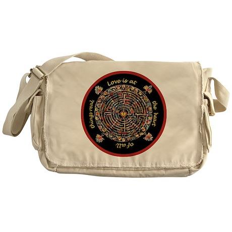 Heart Center #1 (PS) Messenger Bag
