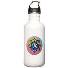 Many Paths to One God Water Bottle