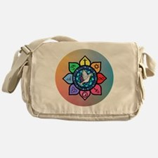 Many Paths to One God Messenger Bag