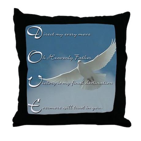 Dove Prayer Pillow