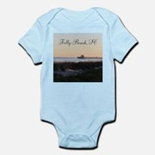 Folly Beach, SC Pier Infant Bodysuit