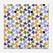 Spanish Stars and Windmills P Tile Coaster