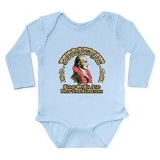 Burr-lesque Long Sleeve Infant Bodysuit
