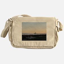 Folly Beach, SC Pier Messenger Bag