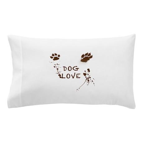 Dog Love Pillow Case