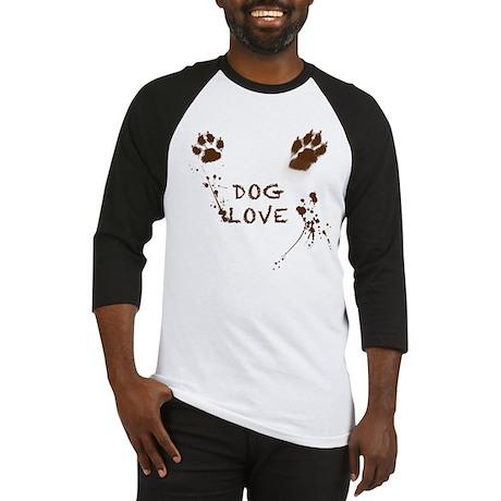 Dog Love Baseball Jersey
