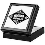 California Girls Kick Ass Keepsake Box