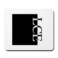 LCE Typography Mousepad
