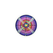 Labryinth Mini Button (100 pack)