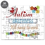 Autism Awareness Will Change Puzzle