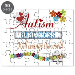 Autism Awareness Will Change Puzzle