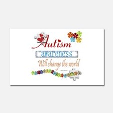 Autism Awareness Will Change Car Magnet 20 x 12