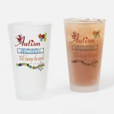Autism Awareness Will Change Drinking Glass
