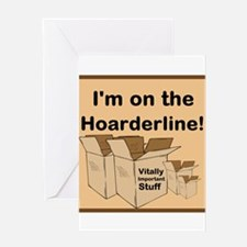 Hoarderline Greeting Card