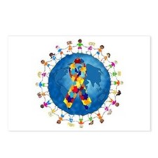 Autism-1 Postcards (Package of 8)