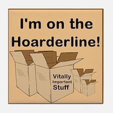 Hoarderline Tile Coaster