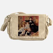 Renoir Family Dog Messenger Bag
