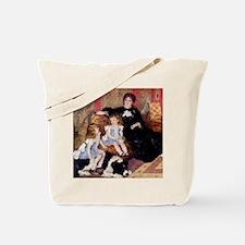 Renoir Family Dog Tote Bag