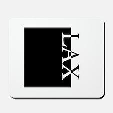 LAX Typography Mousepad