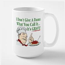 It's Gravy! Large Mug