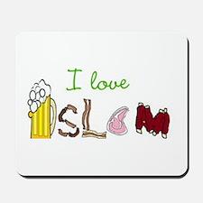 I love islam Mousepad