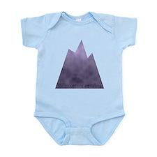Funny Mountain peak Infant Bodysuit