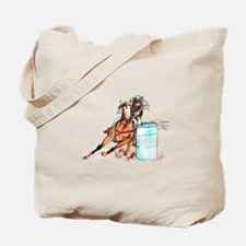Barrel Racer Tote Bag