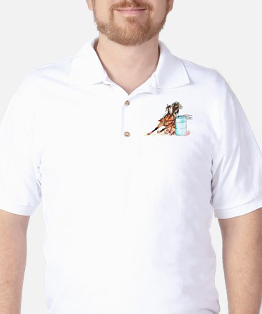 Barrel Racer Golf Shirt