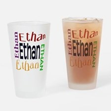 Ethan's Color Block Drinking Glass