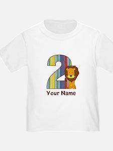 2nd Birthday Lion T