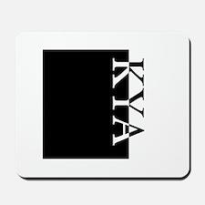 KYA Typography Mousepad
