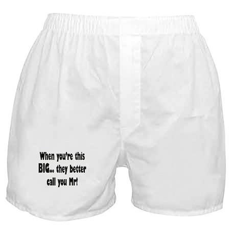 Mr Big Boxer Shorts