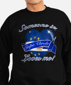 Cape Verde Flag Design Sweatshirt (dark)