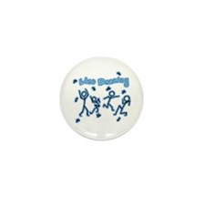Line Dancing Mini Button (10 pack)
