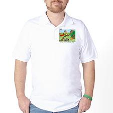KNOTS Woodland Creatures Cartoon T-Shirt