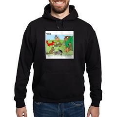 KNOTS Woodland Creatures Cartoon Hoodie