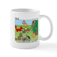 KNOTS Woodland Creatures Cartoon Small Mugs