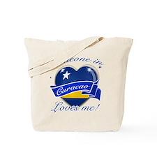 Curacao Flag Design Tote Bag