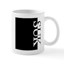 SUK Typography Mug