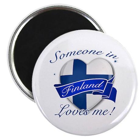 """Finland Flag Design 2.25"""" Magnet (10 pack)"""