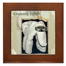 Towel Animal 2006 Framed Tile
