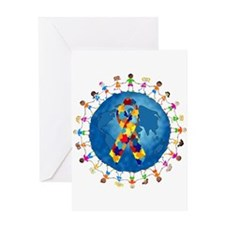 Autism-1 Greeting Card