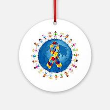 Autism-1 Ornament (Round)