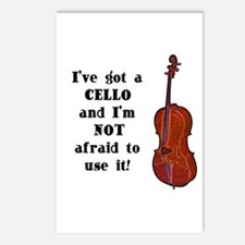 I've Got a Cello Postcards (Package of 8)